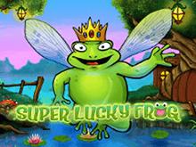 Счастливая Супер Лягушка онлайн в Вулкане